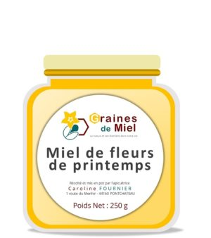 Miel de Fleurs de Printemps – 250g