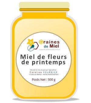 Miel de Fleurs de Printemps – 500g