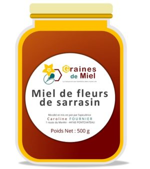 Miel de Sarrasin – 500g
