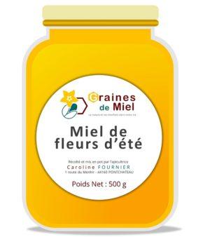 Miel de Fleurs d'été – 500g